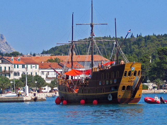 Zdjęcia: Makarska, Galeon, CHORWACJA