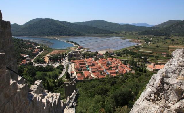 Zdjęcia: Ston, Półwysep Pelješac , Saliny - skarbiec średniowiecza, CHORWACJA