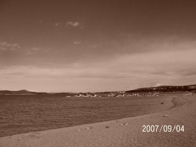 Zdjęcia: Biograd, Dalmacja, Plaża o świcie, CHORWACJA