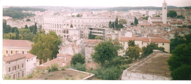 Zdjęcia: Pula, Półwysep Istria, Panorama Puli, CHORWACJA