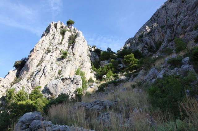 Zdjęcia: Park Przyrodniczy Biokovo, Makarska, Na szlaku, CHORWACJA