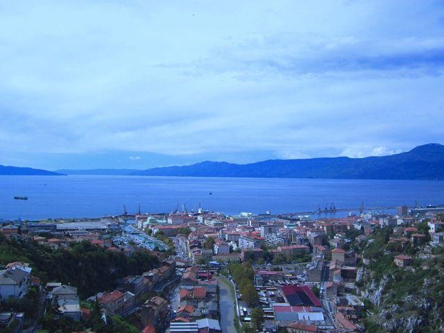 Zdjęcia: Rijeka, Kvarner, Rijeka- widok z Twierdzy Trsat, CHORWACJA