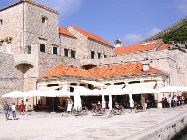 Zdj�cia: Dubrownik, Chorwacja, Dubrownik - port 2, CHORWACJA