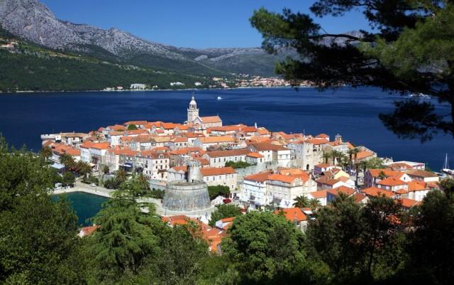Zdjęcia: Środkowa Dalmacja, Adriatyk, Korčula, CHORWACJA