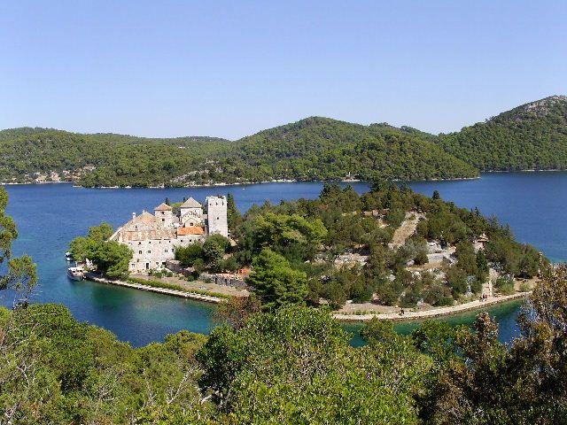 Zdjęcia: Wyspa Mljet, Dalmacja, Wyspa na wyspie, CHORWACJA