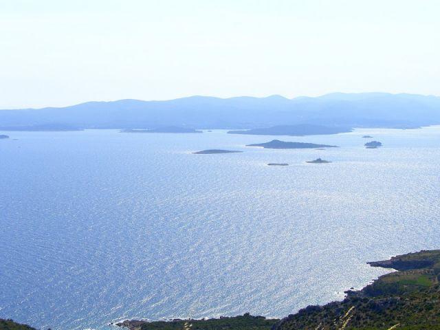 Zdjęcia: Peljesac, Dalmacja, widoczek z brzegu, CHORWACJA