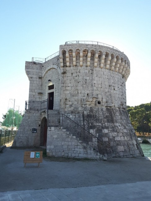 Zdjęcia: Trogir, Dalmacja, Wieża św. Marka, CHORWACJA