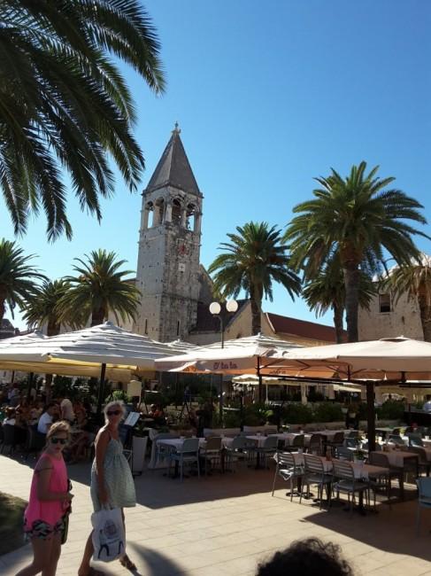 Zdjęcia: Trogir, Dalmacja, Bulwar Riva, CHORWACJA