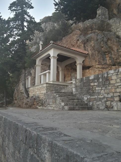Zdjęcia: Wyspa Ciovo, Dalmacja, Wyspa Ciovo - ołtarz, CHORWACJA