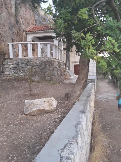 Zdjęcia: Wyspa Ciovo, Dalmacja, Wyspa Ciovo - ołtarz , CHORWACJA