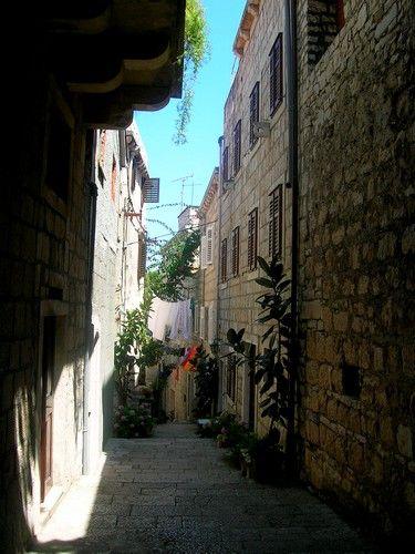 Zdjęcia: Korcula, Dalmacja, w mieście, CHORWACJA