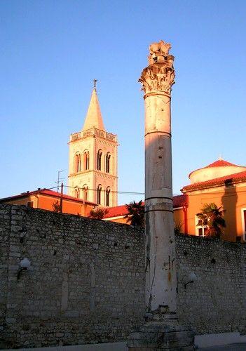 Zdj�cia: Zadar, Dalmacja, w mie�cie, CHORWACJA