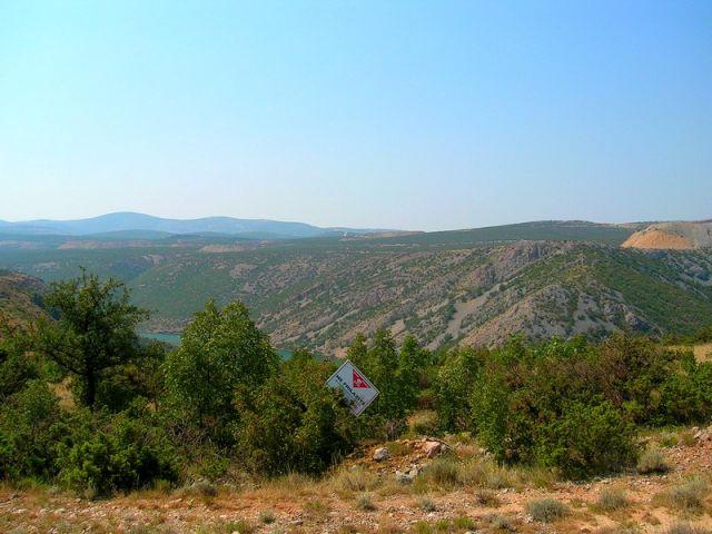 Zdjęcia: pomiędzy, Dalmacja, pozostałości..., CHORWACJA