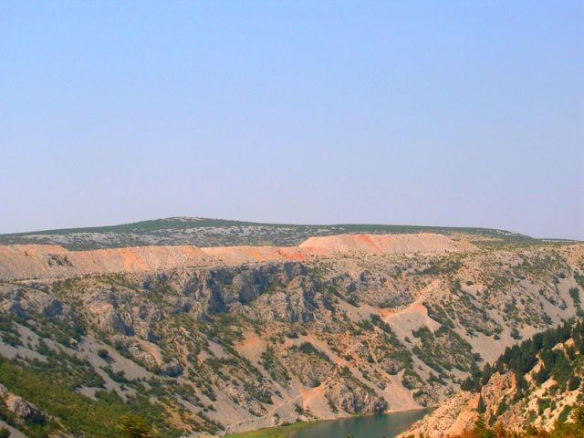Zdjęcia: dolina Zrmanje, Dalmacja, w biegu...., CHORWACJA