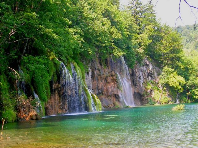 Zdj�cia: Plitvice, Chorwacja �rodkowa, woda, CHORWACJA