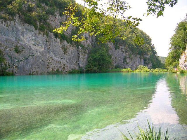 Zdj�cia: Plitvice, Chorwacja �rodkowa, na jeziora ..., CHORWACJA