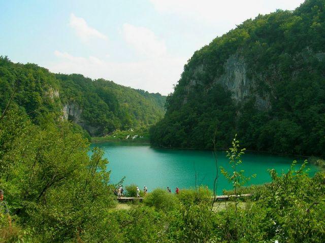 Zdjęcia: Plitvice, Chorwacja środkowa, na jeziora ..., CHORWACJA