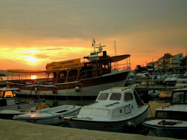 Zdjęcia: Biograd, Chorwacja środkowa, Marina, CHORWACJA