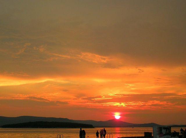Zdjęcia: Biograd, Chorwacja środkowa, niebo, CHORWACJA