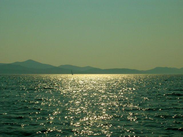 Zdj�cia: Kornati, Dalmacja, Wieczorem..., CHORWACJA