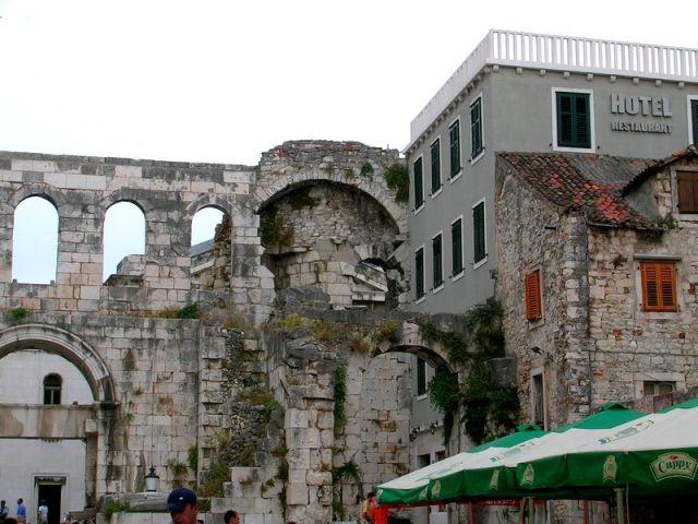 Zdjęcia: Split, Dalmacja, współgranie, CHORWACJA