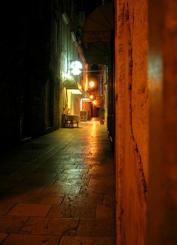 Zdj�cia: Trogir, Dalmacja, w mie�cie, CHORWACJA
