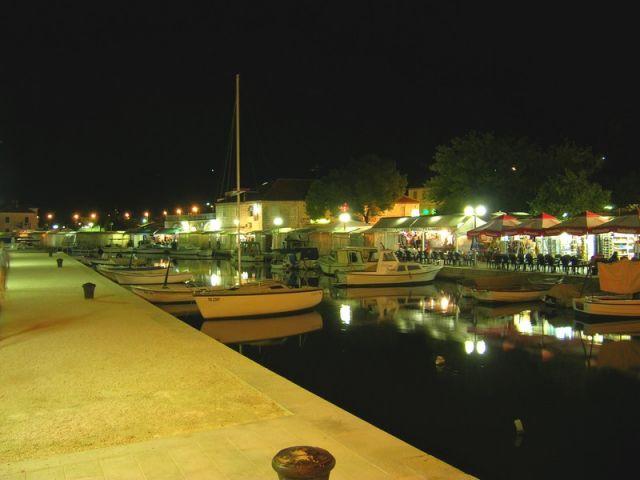 Zdjęcia: Trogir, Dalmacja, Marina, CHORWACJA