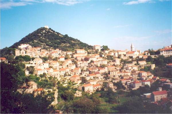 Zdjęcia: Lastovo, Dalmacja, Lastovo-panorama, CHORWACJA