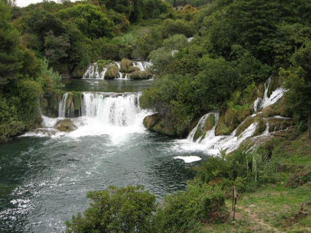 Zdjęcia: Wodospady Krka, Dalmacja, Slapovi  rijeke Krke, CHORWACJA