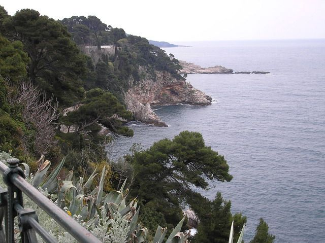Zdjęcia: Dubrovnik, Dalmacja, Skaliste oblicze Dubrovnika, CHORWACJA