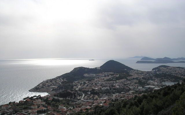 Zdj�cia: Dubrovnik, Dalmacja, Pogled na Elafity, CHORWACJA
