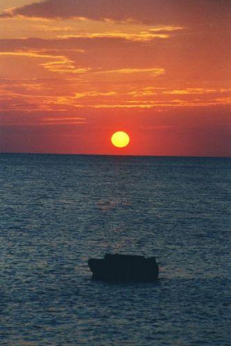 Zdjęcia: Pula, Istria, zachód słońca w Puli, CHORWACJA