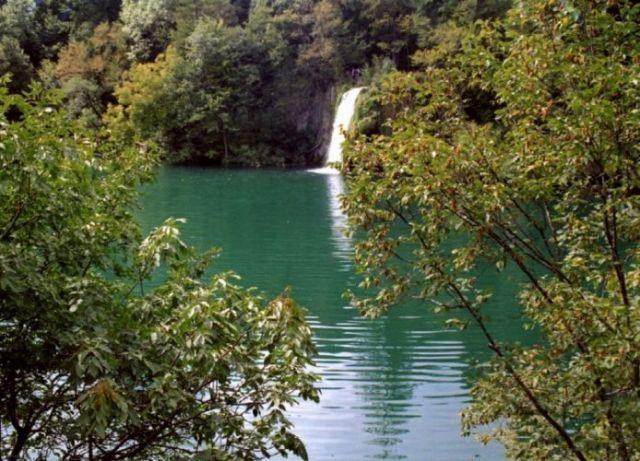 Zdjęcia: Plitvice, Istria, wodospad, CHORWACJA