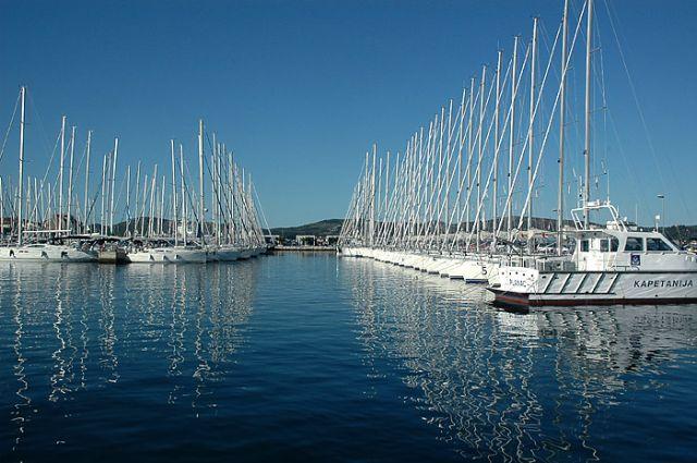 Zdjęcia: Biograd, pólnocna Dalmacja, marina w Biogradzie, CHORWACJA