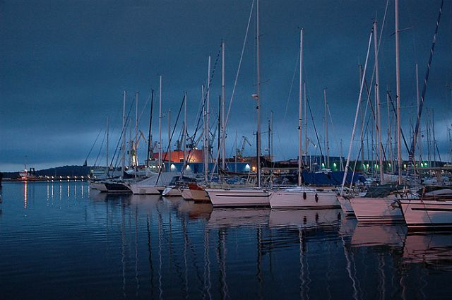 Zdjęcia: Pula, Istria, marina w Puli, CHORWACJA