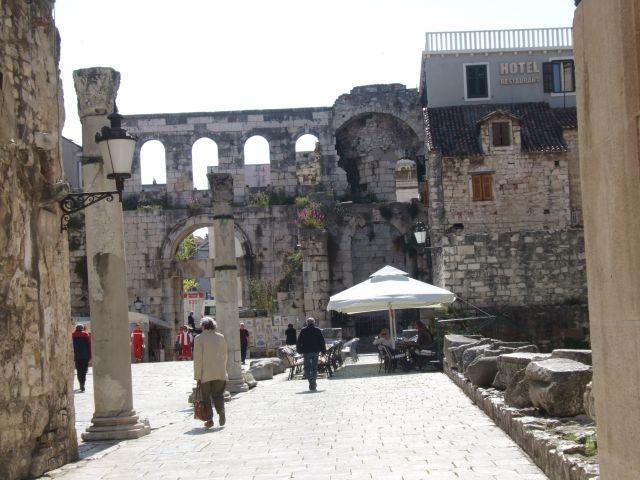 Zdjęcia: Split, ruiny, CHORWACJA