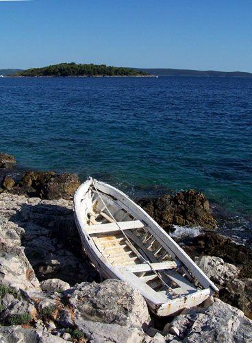 Zdjęcia: WYSPA CIOVO, DALMACJA, wyspa, CHORWACJA