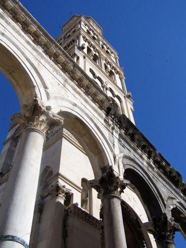Zdjęcia: split, dalmacja, pałac Dioklecjana i katedra, CHORWACJA