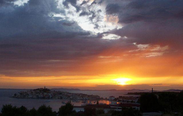 Zdjęcia: primosten, dalmacja, koniec dnia, CHORWACJA