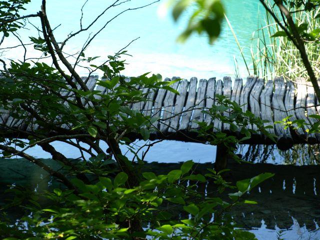Zdj�cia: plitvice, plitvickie jeziora, ... ale proste k�adki..., CHORWACJA