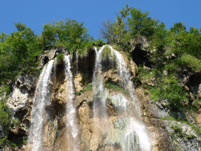 Zdjęcia: plitvice, plitvickie jeziora, .. woda na górze..., CHORWACJA