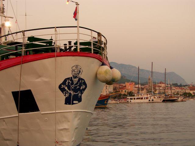 Zdjęcia: Makarska, Dalmacja, zmierzch, CHORWACJA
