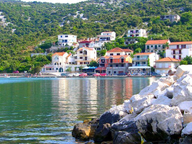 Zdj�cia: Marina, Chorwacja �rodkowa, zatoka, CHORWACJA
