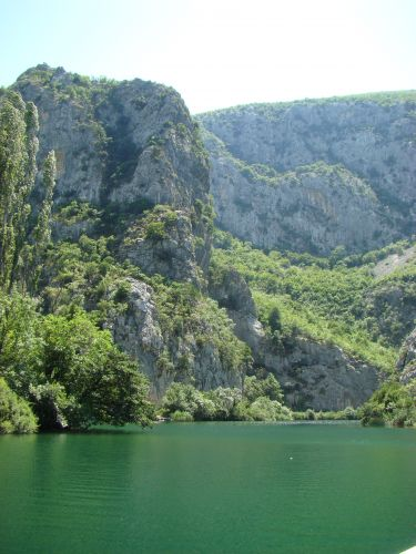 Zdjęcia: Omisz, DALMACJA, Kanion Cetiny, CHORWACJA