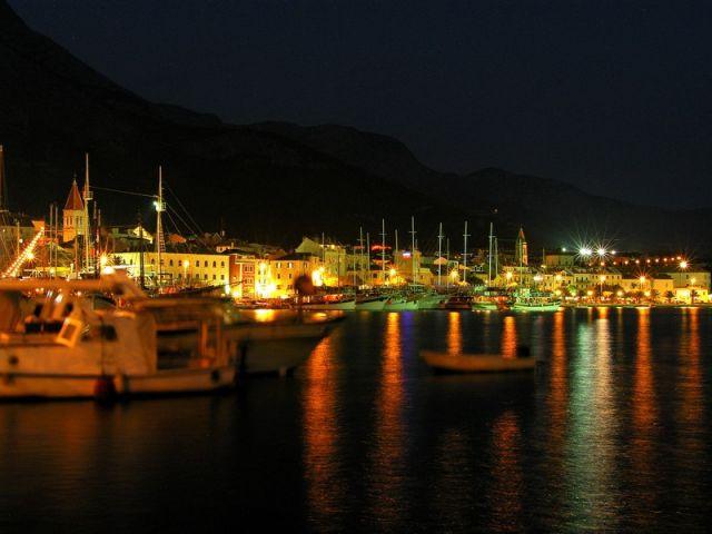 Zdjęcia: Makarska, Dalmacja, port 2, CHORWACJA