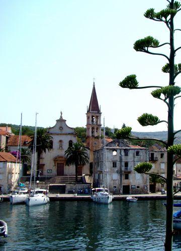 Zdjęcia: Milna, Dalmacja, Kościół Milna, CHORWACJA