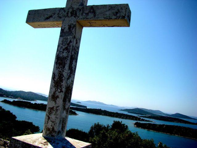 Zdjęcia: Muter, Dalmacja, krzyż, CHORWACJA