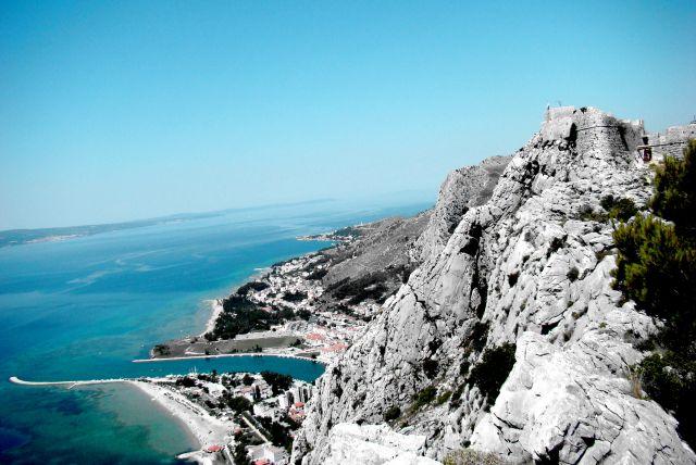 Zdjęcia: Omisz, Dalmacja, Twierdza, CHORWACJA
