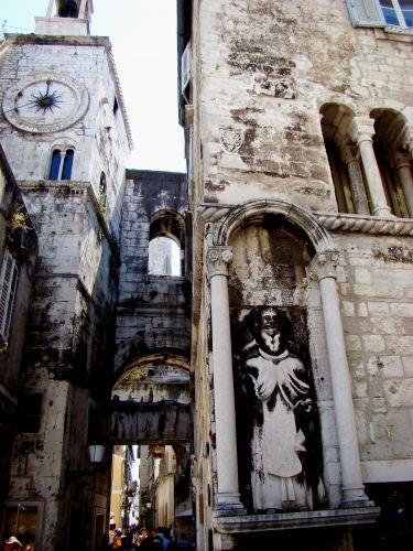 Zdjęcia: Split, Dalmacja, Brama , CHORWACJA