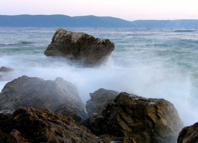 Zdj�cia: Zivogosce, Dalmacja, woda, CHORWACJA